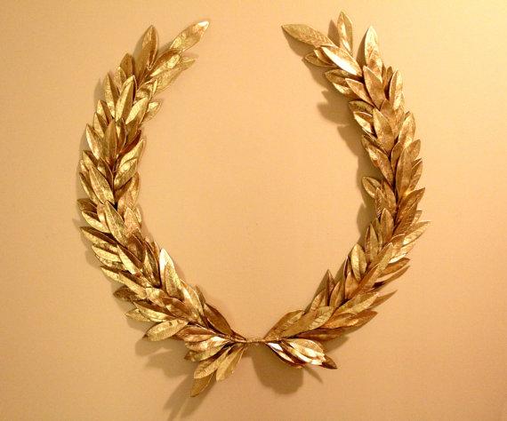 Golden Laurel Chaplet