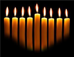 hanukkah candles sm