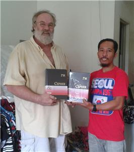 Donated CEPHERS to Phillipines